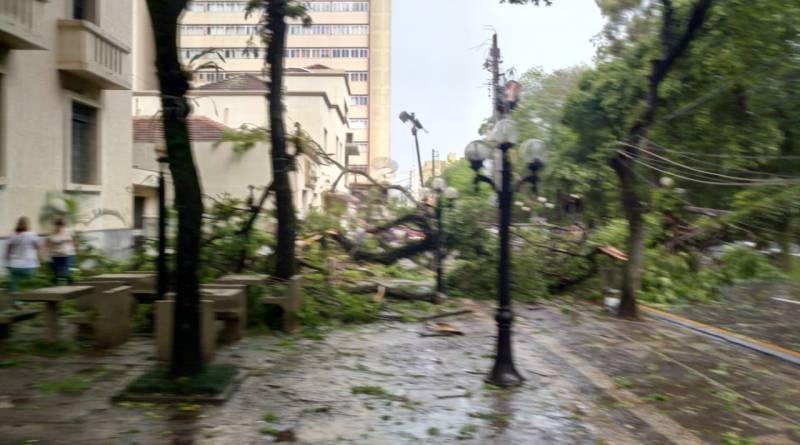 Tempestade em Londrina