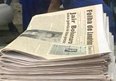 Folha de Londrina 70 anos, e eu estive por lá