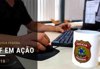 PF cumpre 21 mandados em Foz do Iguaçu/PR e em Minas Gerais