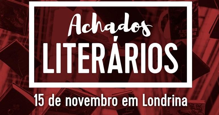 Projeto Achados Literários espalha mil livros no feriado de sexta