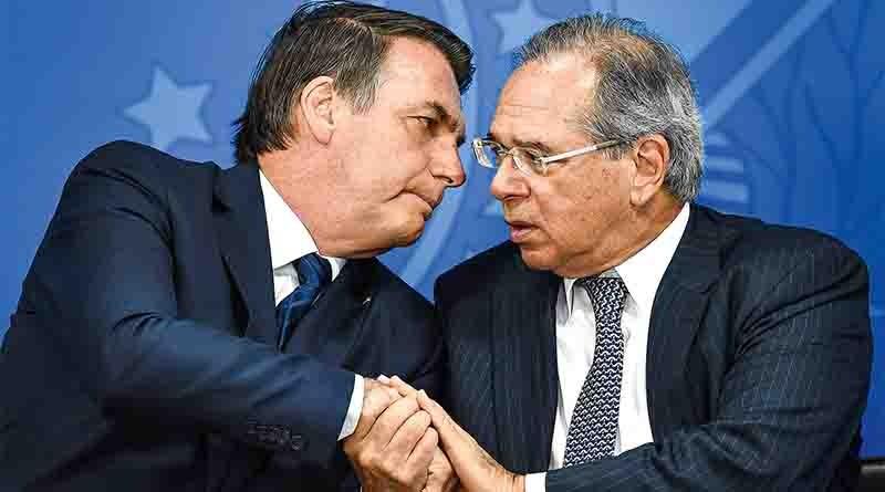 Crise das Offshore abala relação Guedes /Bolsonaro