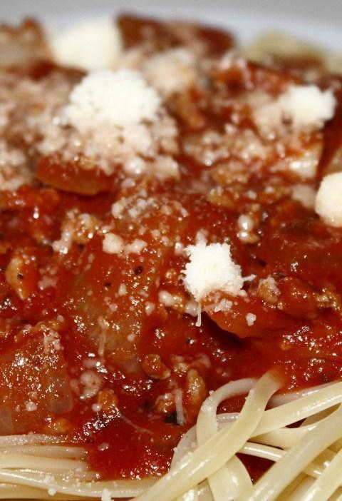 Espaguetis boloñesa thermomix