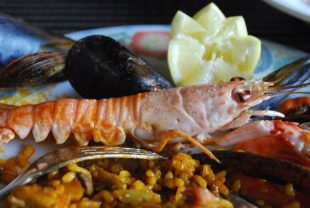 Paella de marisco Thermomix