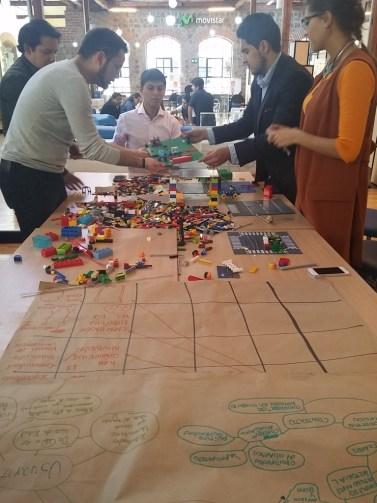 Lego Serious Play-Design Thinking