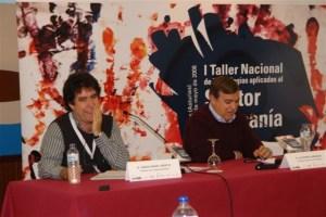Jesús Angel Prieto y Alfonso Arbaiza, felices.