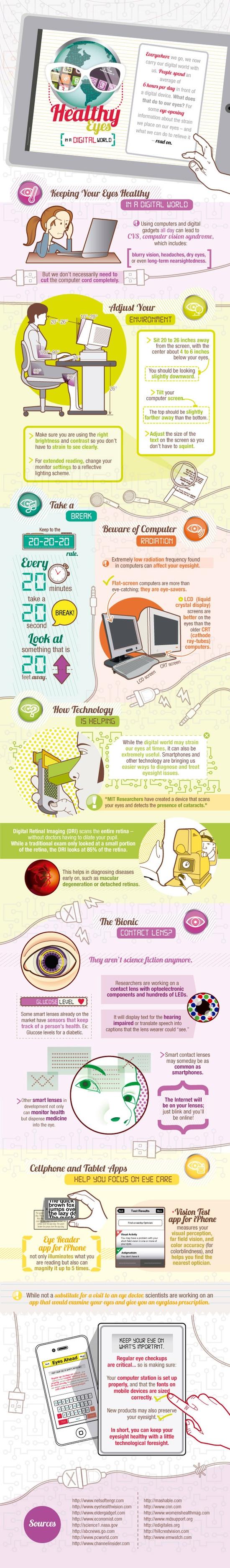 cuida tus ojos en digital world