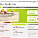 Portal open data Navarra