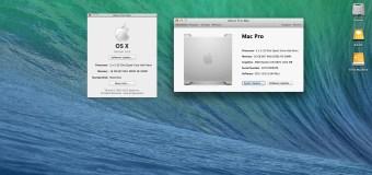 Instalar Mavericks en un viejo Mac Pro 1.1 & 2.1 (2006/2007 gen)