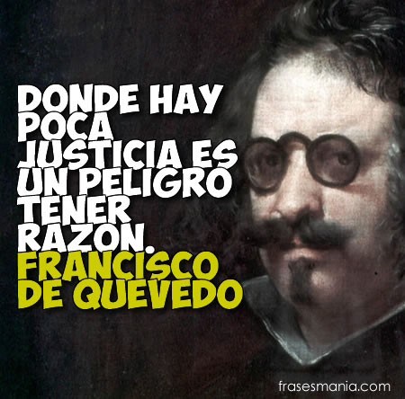 Francisco de Quevedo. Gracias a frasesmania