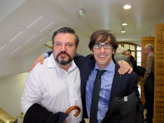 Francisco López, Pablo Camacho y Luis Pérez Montero