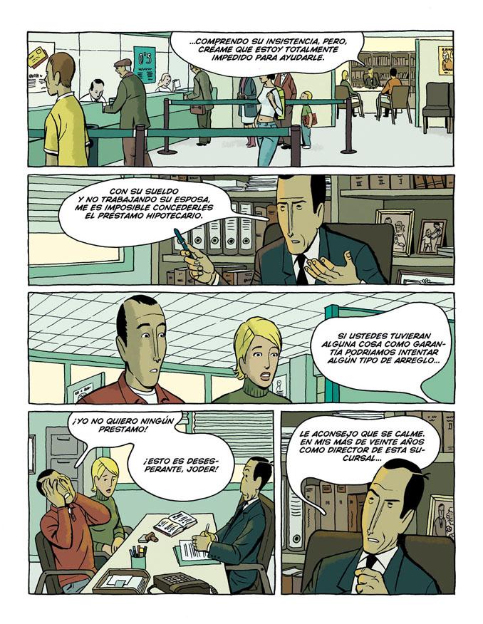 Primera página de Arrugas, de Paco Roca, dispobibles en la web del autor