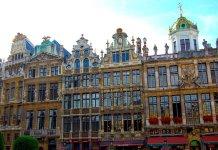 Edificios na Grand Place