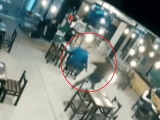Así se vivió el secuestro y asesinato de un hombre en un bar de Aguascalientes #VIDEO