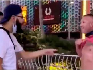 """Mexicanos golpean a sujeto que los llama """"sucios"""" en Las Vegas #VIDEO"""