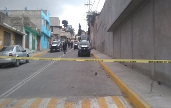 Hallan bolsas con restos humanos en calles de Edomex