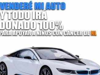 Samuel García donará su BMW para apoyar a niños con cáncer
