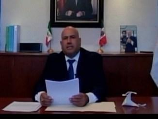 """Alcalde de tamaulipas dio El Grito """"doblemente virtual"""" #VIDEO"""