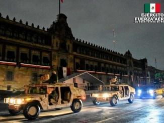 Todo listo para el primer desfile militar sin público en México