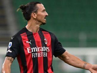 Zlatan Ibrahimovic da positivo a coronavirus, informa Milan