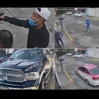 Con un arma de alto poder, sujetos asaltan a conductor en calles de Tlalnepantla #VIDEO