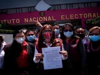 INE aumenta cantidad de aspirantes para dirigir Morena
