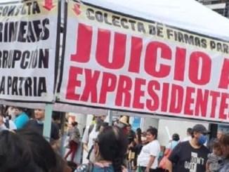 AMLO sugiere al INE realizar una consulta para poder enjuiciar a expresidentes