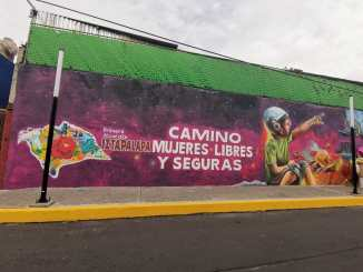 Alcaldía Iztapalapa inaugura un Camino Mujeres Libres y Seguras en Los Culhuacanes