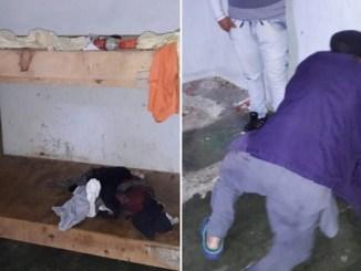 Rescatan a abuelito de 87 años encerrado dentro de una caja por su hija