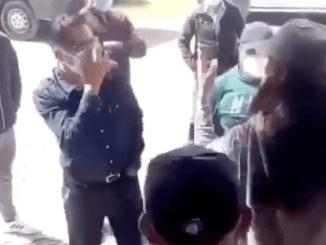 """""""Ningún pend... me llama ratera"""" dice mujer a alcalde de Papalotla, Tlaxcala #VIDEO"""