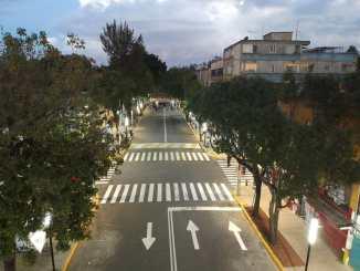 Avenida Emilio Carranza de Iztapalapa es convertida en un sendero seguro