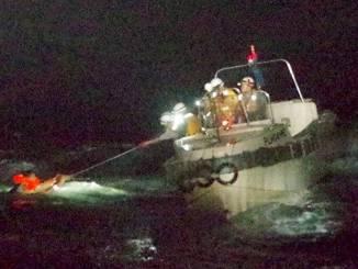 43 tripulantes y 6 mil vacas se hundieron en barco, en las costas de Japón