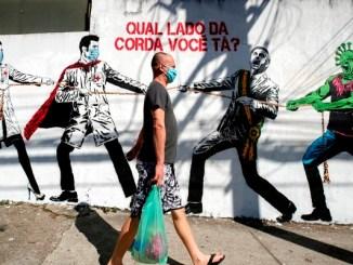 Brasil suma más de 14 mil nuevos casos de coronavirus