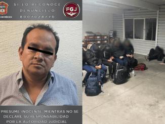 Lo agarraron en Chalco por tráfico ilegal de personas, ¡llevaba a 18 guatemaltecos en una camioneta!