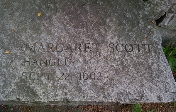 """Margaret Scott, la última """"bruja"""" ejecutada en los juicios de Salem"""