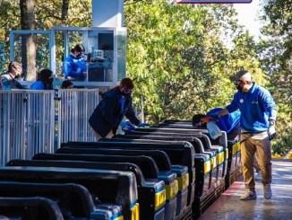Six Flags reabre sus puertas con intensas medidas sanitarias