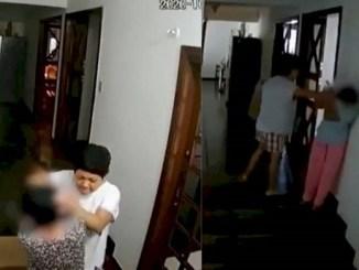 Exhiben a embajadora de Filipinas en Brasil, golpeando a su empleada doméstica #VIDEO