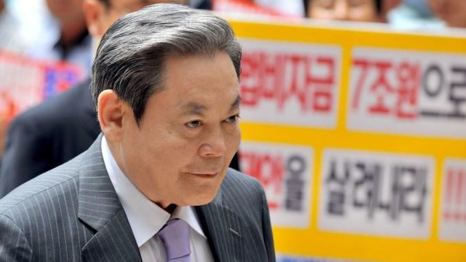 Fallece presidente de Samsung, el hombre más rico de Corea del Sur