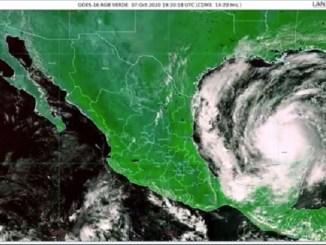 """Huracán """"Delta"""" se degrada a categoría 1"""
