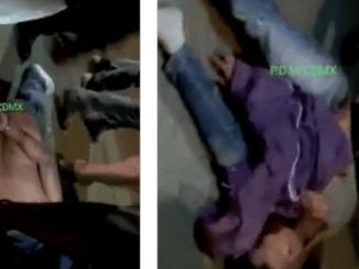 """No vuelves a robar"" dicen a presuntos ladrones que atraparon en Tecámac"