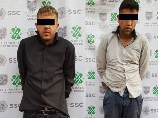 Colombianos son detenidos tras asaltar a una persona en la Álamos #VIDEO