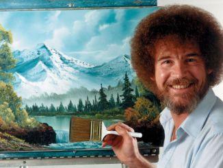 Entre trazos felices, recordemos a Bob Ross