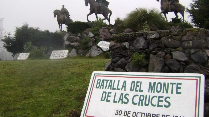 La Batalla del Monte de las Cruces, el enfrentamiento que retrasó La independencia