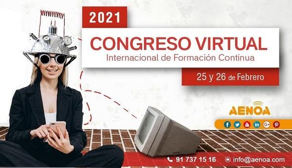 AENOA y Akency se unen y traen el Congreso Virtual Internacional de Formación Continua