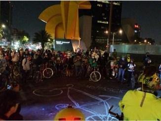 Exigen #JusticiaParaYair, segundo ciclista atropellado en una semana en CDMX