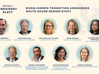 Biden anuncia equipo con mayoría femenina para la Casa Blanca