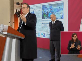 AMLO y Ebrard coinciden en que caso Cienfuegos debe de ser resuelto en México