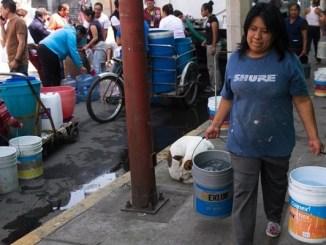 Habrá reducción de agua en 8 alcaldías CDMX y 13 municipios de Edomex