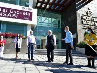 Entregan el Hospital Materno de Texcoco que formará a profesionales de la salud