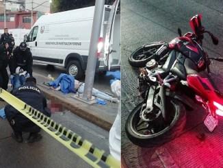 Mueren dos motociclistas en accidente sobre Circuito Interior