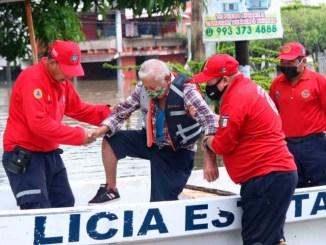 50 mil afectados en Chiapas, Veracruz y Tabasco por las fuertes precipitaciones